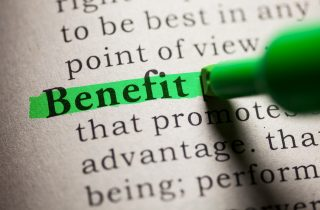 Highlighted definition of benefit, relating to voice of the customer and ODI differences