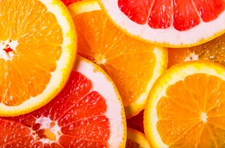 Orange slices representing customer segmentation and voice of the customer