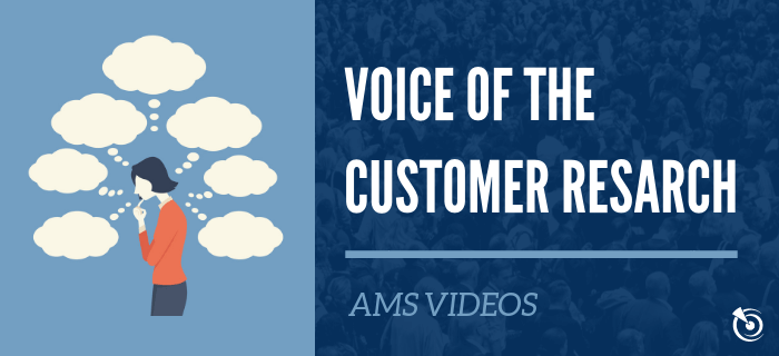 Voice of the Customer Market Research